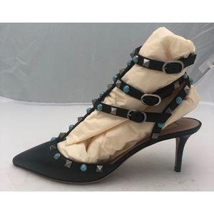 Valentino Garavani Shoes - New Valentino Rockstud Pumps Black SZ 38.5